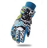 He-shop Ski Gloves Winter Children Windproof Waterproof Warm Gloves Outdoor Warm Ski Gloves