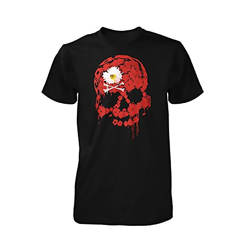 the-dead-daisies-red-skull-t-shirt-s
