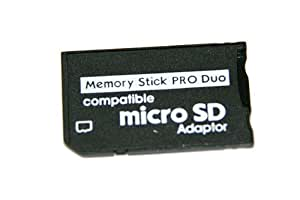 Tiny Deal TDL27158 Sdhc Microsd Transflash Tf Card To Memory Stick Pro Duo Adapter Converter Gpspmc01 Memory Card