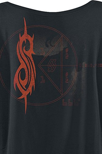 Slipknot Iowa Album Cover Girl-Shirt Schwarz Schwarz