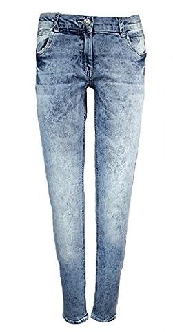 Mädchen Trendjeans Jeans Hose Blau Skinny