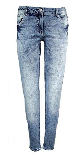 Mädchen Trendjeans Jeans Hose Blau Skinny 158/164
