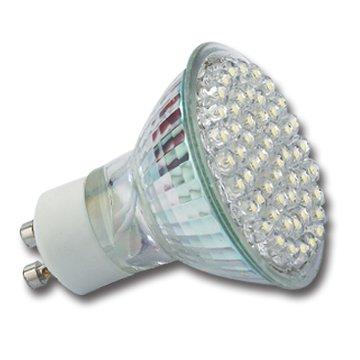 LUMIRA LED-Leuchte mit 60 LEDs und 225 Lumen, Kaltweiß, GU10, 60° Abstrahlwinkel, 3,0 Watt, 230V von Lumira auf Lampenhans.de