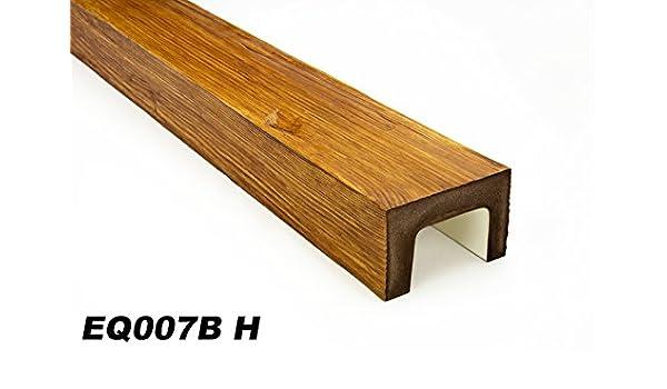 EQ005 D Serie Rustikal 2 Meter Dekorbalken Deckenbalken 190x130mm