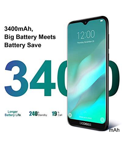 Télephone Portable débloqué Pas Cher 4G, DOOGEE Y8 2019 Smartphone Android 9,0 Mobile 6,1Pouces 19.9 HD+ Goutte d'eau, 3Go+16Go MT6739 Dual ... 13