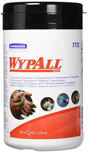 Wypall 7772 Wypall Reinigungstücher feuchte Wischtücher 27x27 cm, Inh.50 Tücher, grün - Kommerzielle Wasser-reinigung-system