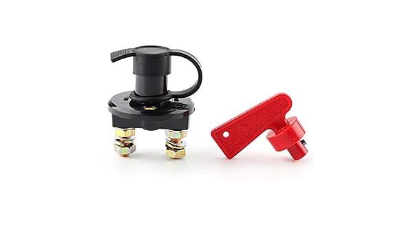 Staccabatteria per auto ABS Alluminio 350A Interruttore di spegnimento batteria per auto moto ad alta corrente M10 Interruttore di interruzione batteria Isolatore principale Universale