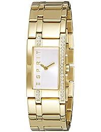 Esprit Damen-Armbanduhr Analog Quarz Edelstahl beschichtet ES000M02122