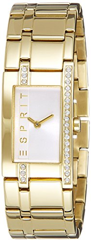 Esprit Womens Quartz Watch, Analogue Classic Display and Stainless Steel Strap ES000M02122