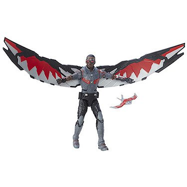 Marvel Legends, Captain America: Civil War, Falcon Exclusive Action Figure, 6 Inches by Hasbro