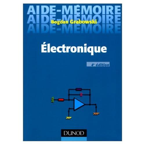 Aide-mémoire d'électronique