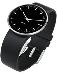 Rosendahl Unisex-Armbanduhr Analog Edelstahl schwarz 43447