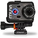 Veho VCC-006-K2 Muvi K-Series K2 Caméra d'action Embarquée 16 Mpix HDMI/Wi-Fi/USB/SD Noir + Etui étanche