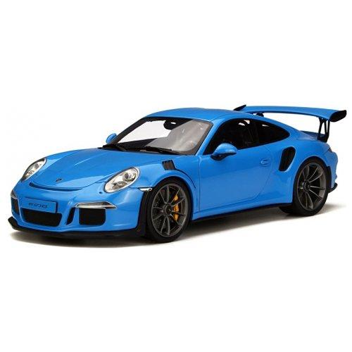 Preisvergleich Produktbild Porsche 911 991 GT3 RS blau GT Spirit 1:18