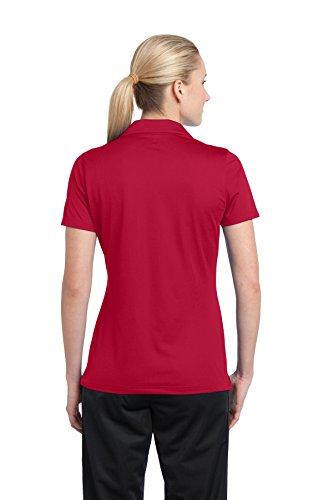 Sport-Tek -  Polo  -  Vestito modellante  - Donna rosso  - Rosso True Red