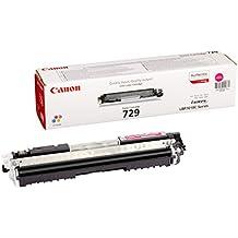 Canon 729 M - Cartucho tóner, 1000 páginas, color magenta