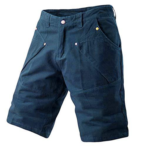 hahashop2 Herren Cargo Short Freizeit-Shorts Liam/Jogginghose/Sweatpants/Kurze oder Lange Hose - Shorts fürs Werkzeug