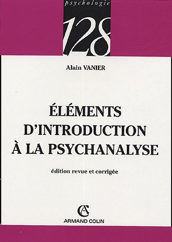 Eléments d'introduction à la psychanalyse