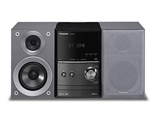 Panasonic SC-PM600EG-S Micro HiFi(40 Watt RMS, CD,UKW, Bluetooth) Silber