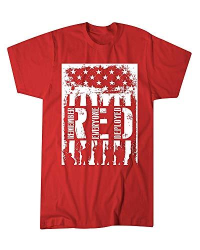 374d935eae3df5 Gfj65S Adult R.E.D. Remember Everyone Deployed Novelty T-Shirt