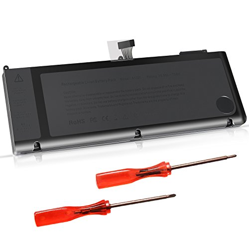 ARyee 73Wh 10.95V A1321 Akku Laptop Akku mit Zwei kostenlosen Schraubendreher Ersatz für MacBook Pro Unibody 15