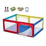 Parques de juegos Pesaje para bebés, Parque Infantil, barandilla para niños pequeños antivuelco y Seguridad en Interiores, Centro de Actividades de Seguridad Patio de Juegos (Tamaño : 200x150x68cm)