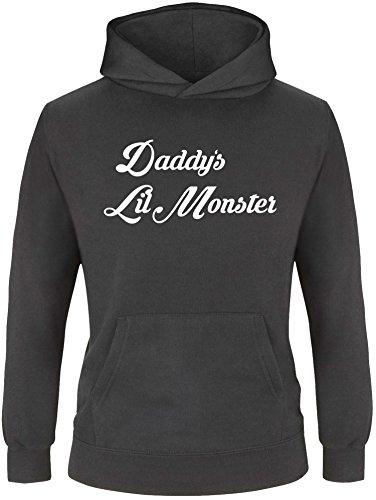 Daddy Hoodie (EZYshirt® Daddy´s lil Monster Kinder Hoodie)