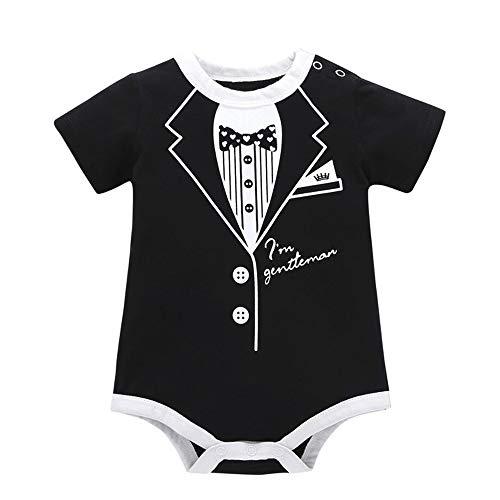 Obestseller Babybekleidung,Kleinkind Kleinkind Kinder Baby Mädchen Boy Print Kleidung Casual Strampler Overall Overall,Unisex,Sommerkleidung (Baby Kleidung Boy Weihnachten)