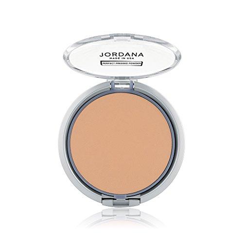 (6 Pack) JORDANA Perfect Pressed Powder Caramel