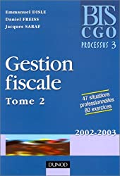 Gestion fiscale, tome 2