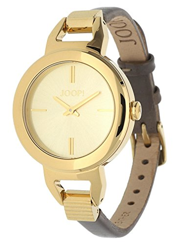 Joop! Damen Analog Quarz Uhr mit Leder Armband JP101652003