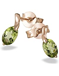 Goldmaid - Fa O5757RG - Boucles d'Oreilles Femme - Or rose 375/1000 (9 carats) 1.0 gr - Onyx