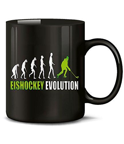 EISHOCKEY EVOLUTION 528(Schwarz-Grün) (Nhl Hockey-puck Gewicht)