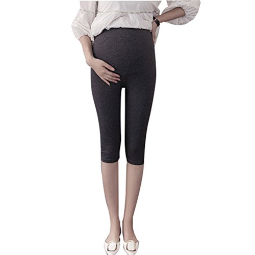 Zhhlaixing Mutterschaft Hose Pregnancy Women Adjustable Pregnant Pants Maternity Clothes Care Bdomen Belly Capri Pants -