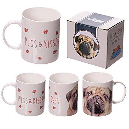 Pugs & Kisses Carlino marrone Puppy Design