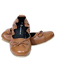 Tan color Maternity Washable pregnancy shoes for Women (41)