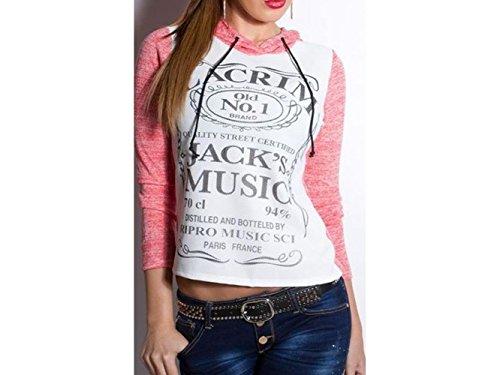 ATELIER DEL RICAMO - T-shirt de sport - Femme Rosa Acceso