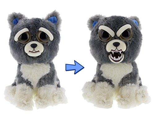 feisty pets einhorn William Mark Feisty Dog Gray Stuffed Attitude Plush Animal …