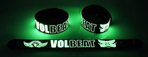 Volbeat Nuovo. Si illuminano al buio braccialetto Bracelet VBT 170G