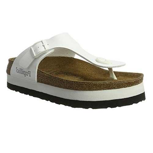 Papillio Womens Gizeh Synthetic Sandals White