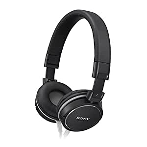 Sony Fashion Over-Ear Headphones for iPod, iPhone, MP3 and Smartphone - Black