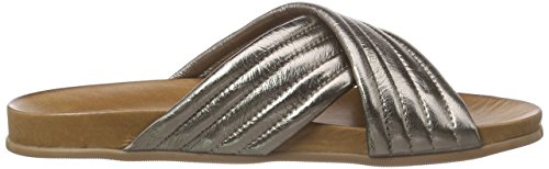 Inuovo 6076, Tongs Femme Gris - Gris (Etain)