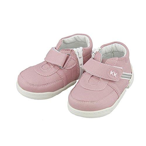 Babyschuhe Krabbelschuhe Lauflernschuhe Hausschuhe Schuhe Baby Freizeitschuhe (17-18, classic weiss) sport rosa
