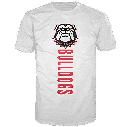 meet ae4f8 9f3ac GTSTCHD Men's Georgia Bulldogs College T-shirt White