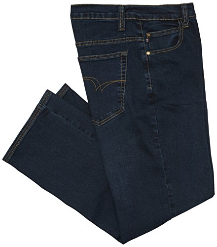 Lee Cooper Men\'Stretch, lang, Jeans-Design, blau