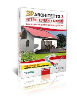 3D ARCHITETTO 3 INTERNI ESTERNI E GIARDINI
