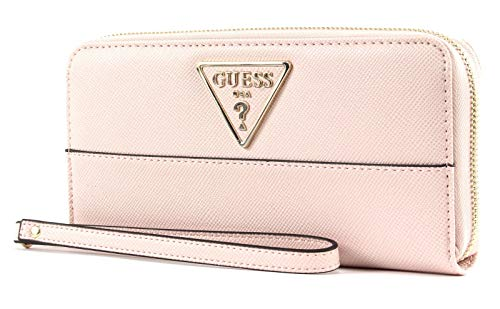 Guess Cary SLG Large Zip Around Blush