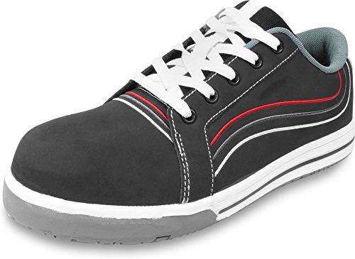 Sicherheitsschuh S3 Virgina Halbschuh im Sneaker-Style nach EN 20345 Anthrazit
