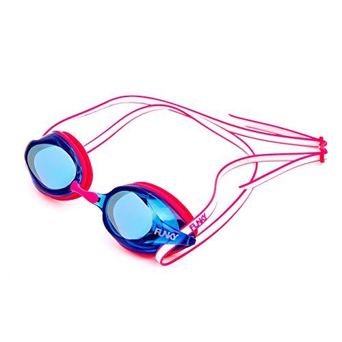 Funky Trainingsmaschine Eye Candy verspiegelte Anti-Beschlag-Brille mit UV-Schutz und 3 Nasenbrücken Größen
