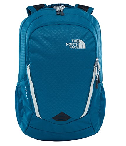 The North Face W Vault Multifunktionsrucksäcke, Blue Coral Emboss / Vintage White, 33 x 35 x 15 cm, 28 L